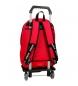 Comprar Pepe Jeans Zaino a doppia zip con carrello Pepe Jeans Red Osset -31x46x15cm-