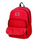 Comprar Pepe Jeans Backpack Double Zipper with Trolley Pepe Jeans Osset red -31x46x15cm