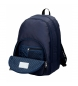 Comprar Pepe Jeans Backpack Double Zipper Pepe Jeans Uma navy blue -34x44x16cm