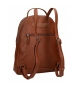 Comprar Pepe Jeans Backpack with brown Daphne carrier -26x33x12cm