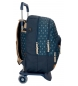 Comprar Pepe Jeans Mochila escolar Pepe Jeans Carola Azul 44cm doble compartimento con carro -44x31x15 cm-