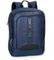 Compar Pepe Jeans Backpack for laptop Pepe Jeans Bromley Blue 13.3