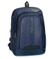 Compar Pepe Jeans Backpack for laptop Pepe Jeans Bromley Blue 15.6