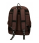 Comprar Pepe Jeans Backpack Pepe Jeans Osset brown -31x42x17,5cm