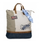 Mochila shopping Pepe Jeans Aroa -38x42x14cm-