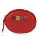 Monedero Pepe Jeans Mandala rojo -10,5x7x1,5cm-