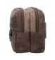 Comprar Pepe Jeans Trousse de toilette Double Compartiment Adaptable Pepe Jeans Miller Brown -27x17x10cm