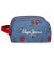 Neceser Doble Compartimento Adaptable Pepe Jeans Pam -26x16x12cm-