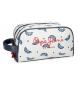 Neceser Pepe Jeans Feli doble compartimento adaptable a trolley -16x26x12cm-