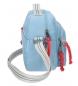 Comprar Pepe Jeans Neceser Pepe Jeans Yoga Azul con bandolera adaptable a trolley -26x20x10cm-