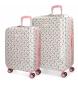 Set de maletas rígidas Pepe Jeans Tina -55x40x20cm / 70x48x28cm-