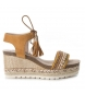 Compar Refresh Wedge Sandal 064086cam camel