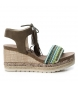 Compar Refresh Wedge sandal - wedge height 10 cm