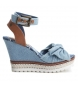 Sandalia 064406 jeans -Altura cuña: 10cm-