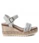 Comprar Refresh Sandals wide wedge bios 069826 ice - Wedge height: 8cm
