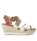Compar Xti Jute wedge sandal 063272 gold