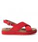 Sandalia 069834 rojo