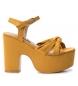 Sandalias 069723 amarillo -Altura tacón: 9cm-