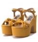 Comprar Refresh Sandales 069723 jaune -Hauteur du talon : 9cm
