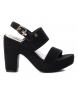 Compar Refresh Sandals 069752 black -heel height: 12cm