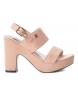 Compar Refresh Sandals 069752 nude -heel height: 12cm