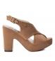 Compar Refresh Sandali 069753 cammello - altezza tacco: 12cm