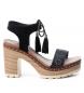 Compar Refresh Sandales bios 069724 noir -Hauteur du talon : 10cm