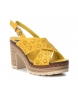 Comprar Refresh Sandal 069726 yellow -heel height: 10cm