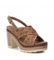 Comprar Refresh Sandalias bios 069726 camel  -Altura tacón: 10cm-
