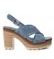 Compar Refresh Sandal 069726 jeans -heel height: 10cm
