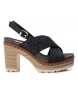 Comprar Refresh Sandalias bios 069726 negro  -Altura tacón: 10cm-