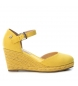 Compar Refresh Sandal 069730 yellow - Wedge height: 8cm