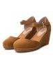 Comprar Refresh Sandal 069730 camel - Wedge height: 8cm
