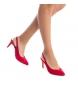 Comprar Refresh Salão sapato de salto alto 069972 vermelho - Altura do salto: 9cm