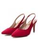 Comprar Refresh Salon chaussure à talon haut 069972 rouge -Hauteur du talon : 9cm