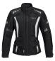 Reusch ladies 'touring cuero / chaqueta textil 1.0 negro