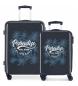 Juego de maletas rígidas 33L-67,5L Palm -36x55x20 cm/48x67x25 cm-