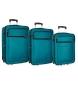 Compar Roll Road Juego de maletas Roll Road Time -55-65-75cm- Verde