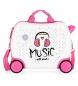 Maleta correpasillos  Music -34x41x20 cm-