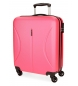 Compar Roll Road Cambodia Rigid Cab Cabin Suitcase - 40x55x20cm - Strawberry