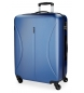 Compar Roll Road Grande valise Roll Road Cambodge rigide -50x70x26cm - Bleu