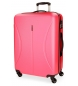 Compar Roll Road Big suitcase Roll Road Cambodia rigid -50x70x26cm- Strawberry