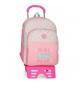 Mochila Doble Compartimento con carro Roll Road Do All -33x44x13,5cm