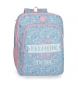 Mochila Escolar Doble Compartimento Adaptable Roll Road Dreaming -33x42x17 cm-