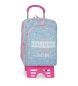 Mochila Escolar Doble Compartimento con carro Roll Road Dreaming -33x42x17 cm-