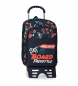 Mochila Escolar Doble Compartimento con Carro Roll Road Freestyle -33x42x17 cm-