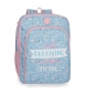 Mochila Escolar Doble Compartimento Roll Road Dreaming -33x42x17 cm-