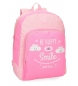 Compar Roll Road Zaino scolastico Roll Road Happy Pink -33x44x13,5cm-