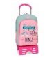 Mochila escolar Roll Road Little Things 40cm con carro -30x40x13cm-