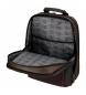 Comprar Roll Road Sac à dos pour ordinateur portable Roll Road Stock double compartiment Marron -32x43x15cm-